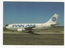 Pan Am Airbus A310 Aviation Postcard, A664