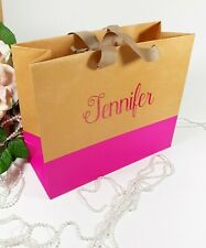 Personalized Wedding Gift Bags Bachelorette Bridal Parties Favor Bags Birthday