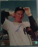 Whitey Ford NY Yankees hand signed 16x20 photo HOF 74
