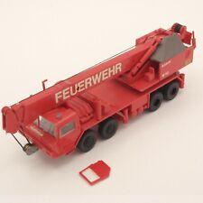 Preiser 1:87 Schnäppchen ! Feuerwehr Kranwagen Modell, siehe Bilder o. EK8499