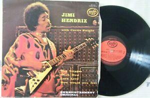 ALBUM-JIMI HENDRIX-WITH CURTIS KNIGHT-MFP 3630-1972
