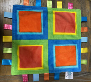 Genuine Little Taggies Multi Color Square - No Tag But Never Used