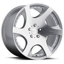 MRR VP3 19x8.5 5x114.3 Silver Wheels Rims (Set of 4)