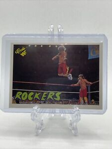 1990 Classic WWF The Rockers ROOKIE Shawn Michaels Marty Jannetty #118 NICE!