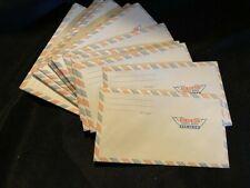 Vintage Airmail Envelope Lot of 21 ~ Via Air Mail Envelopes ~ Par Avion Red