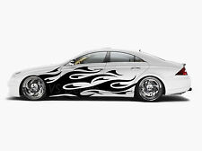 Car Side Body Graphics Sticker Flame Vinyl Decal any color fit any vehicle