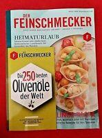 Der Feinschmecker #6 2020 Lieblingspasta + Extraheft Olivenöle ungelesen