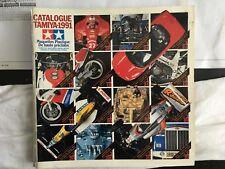Vintage Tamiya 1991 Model Catalogue - French Language.