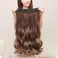 Clip in Hair Extensions Sexy Long Curly Human Hair Extensions Synthetic Wig