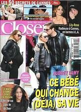 CLOSER N°571 20/05/2016 AUDREY LAMY/ CANNES/ LILY-ROSE DEPP/ BLOOM&PERRY/ BENT