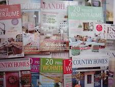 30 Zeitschriften für Wohnen und Einrichten