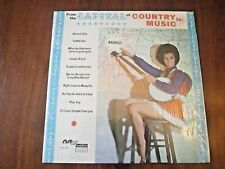 From The Capital of Country Music NASHVILLE LP Modern Sound MS-555 CHEESECAKE