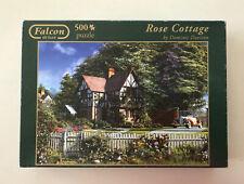 Rose Cottage by Dominic Davison - Falcon de luxe 500 Piece Jigsaw Puzzle.