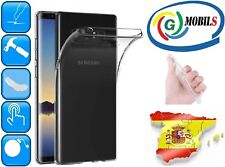 Funda gel transparente carcasa flexible para Samsung Galaxy Note 8 0.8mm