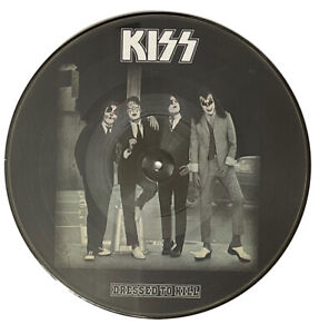 Kiss Dressed To Kill 12 inch Vinyl Picture Disc 2021 Repress New
