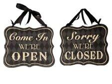 Shabby Chic Shop Door Sign