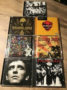 Killing Joke - CD Collection - 17no - Excellent Condition