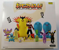 Pokemon Scale World Johto Region 1/20 Scale Figures - Box Set 8 Packs 15 Figures