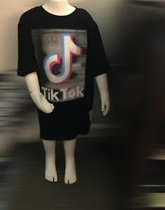 Kids Tik 2020 Tok Clothing T-shirt High quality tok-tik musice t-shirt