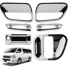 2005 - 2017 Doors Handle Bowl Inner Cover Chrome Fit Toyota Hiace Commuter Van