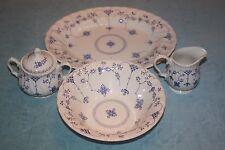 Myott Staffordshire Ware FINLANDIA Creamer Sugar Bowl Serving Platter Lot of 4