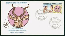 Mayfairstamps Djibouti 1981 Scouts Animal Cachet First Day Cover wwo1483