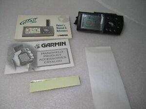 Garmin GPS II  Handheld GPS with instructions.Original Box