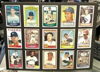 "BASEBALL GREATS 3 MATTED 15/CARD ""REPRINT"" COLLECTABLE 12"" x 16"" NMT LOOKS GREAT"