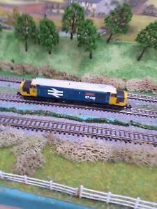 Graham farish n gauge class 37 Large Logo Split For Set dcc fitted