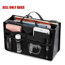 Lady Women Insert Handbag Bag in Bag Purse Large liner Organizer Bag Travel