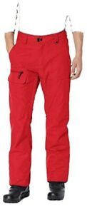NWT 686 Men's Vice Shell Ski Pants(Red)-Sz Large
