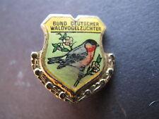 Anstecknadeln Goldene Ehrennadel Bund Deutscher Waldvogelzüchter