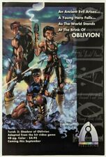 Turok 3 Shadow of Oblivion Print Ad Comic Poster Art PROMO Original Acclaim