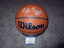 MIKE KRZYZEWSKI Coach K Duke Blue Devils SIGNED Wilson Basketball w/ BAS COA