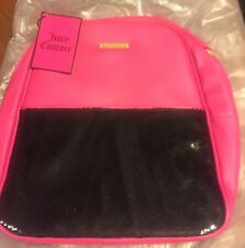 JUICY COUTURE PINK And Black BACKPACK TRAVEL SCHOOL BAG TOTE NEW SAC