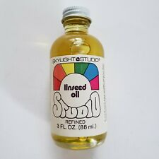 Skylight Studio Refined Linseed Oil 3 oz 88 ml Oil Painting Art Crafts
