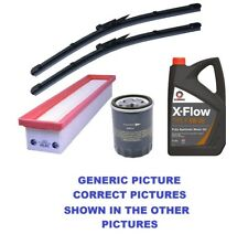 Oil,Air,Filters,FRONT,REAR WIPERS E61 BMW 5 Series 520d Diesel