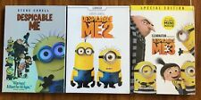 Despicable Me 1, 2, 3 Trilogy Brand New 3-DVD Combo Set