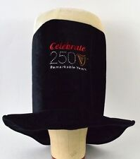 Guinness Beer Celebrate 250 Remarkable Years felt top hat new years party Irish