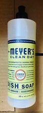2x Mrs. Meyer's Clean Day Liquid Dish Soap Lavender & Lemon