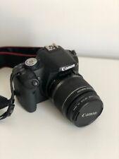 DSLR Canon EOS 500D (BLACK) camera Kit with 18-55 lens