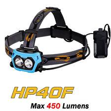 Fenix HP40F Cree XP-G2 White LED+XP-E2 M3 Blue LED Fish Light Headlamp Headlight