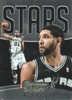 2013-14 Select Basketball Stars #8 Tim Duncan San Antonio Spurs
