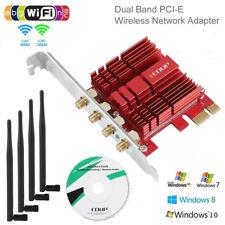 Dual Band 1300/600 Mbps Wireless Express Desktop WIFI Adapter PCI-E Network Card
