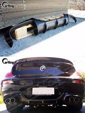 CARKING 06-10 UNPAINTED BMW E63 E64 M6 V style REAR DIFFUSER SPOILER PU