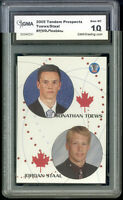 2005 Jonathan Toews Jordan Staal Tandem Prospects Rookie  Gem Mint 10