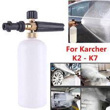 Schaumlanze Hochdruck Schaumkanone Düse Injektor für Karcher K2 - K7 Snow 1L Neu