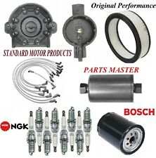 Tune Up Kit Filters Cap Spark Plugs Wire For CHEVY C1500 V8 5.0L;5.7L;TBI 88-93