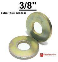25 Details about  / 5//8 F436 SAE Grade 8 Yellow Zinc Hardened Flat Washers 5//8 ID x 1-1//4 OD