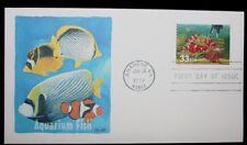 1999 FDC Aquarium Fish Fish & Heater 33c Stamp # 3320 Fleetwood Cover